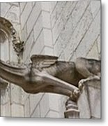 Gargoyle Cathedral Tours Metal Print