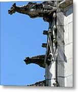 Gargoyles In A Row Metal Print