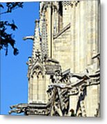 Gargoyles Of Notre Dame De Paris Metal Print