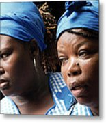Garifuna Ladies Metal Print
