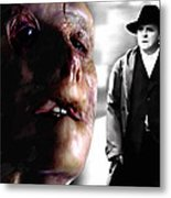 Gary Oldman and Anthony Hopkins in the film Hanibbal by Ridley Scott Metal Print