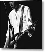 Gary Pihl On Guitar Metal Print