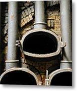 Gas Distilation Metal Print