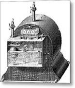 Gas Meter Metal Print