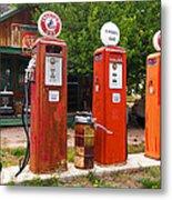 Gas Museum Embudo New Mexico Metal Print