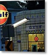 Gas Station 2 Metal Print