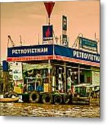 Gas Station Vietnam Style Metal Print