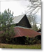 Gaskins Family Barn Series II Metal Print