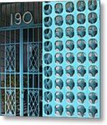Gate 190 Palm Springs Metal Print