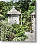Gate Entrance Metal Print