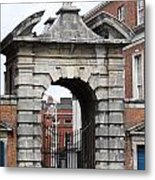 Gate Of Justice - Dublin Castle Metal Print