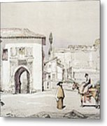 Gate Of The Vine , From Sketches Metal Print