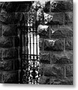 Gate To Grave  Metal Print