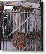Gate To The Infirmary Metal Print