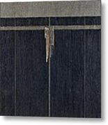 Gate To The Mystery Garden Metal Print
