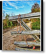 Gated Community Country Style Metal Print