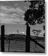 Gated Light Metal Print