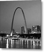 Gateway Arch In St Louis Metal Print