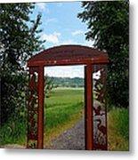 Gateway To The Trail Metal Print by Lizbeth Bostrom