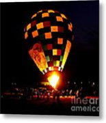 Gathering For Night Glow Metal Print
