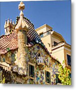 Gaudi Apartment Metal Print