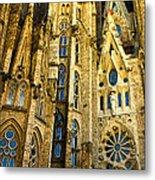 Gaudi - Sagrada Familia Metal Print