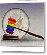 Gay Marriage Metal Print