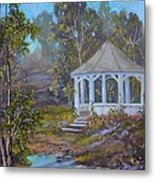 Gazebo And A Dream Metal Print by Michael Mrozik