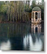 Gazebo And Lake Metal Print