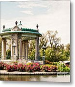 Gazebo At Forest Park St Louis Mo Metal Print