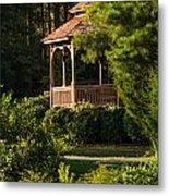 Gazebo In The Park   Metal Print
