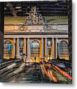 Gct From Park Ave Metal Print