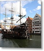 Gdynia Pirate Ship - Gdansk Metal Print