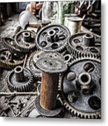 Geared Out Metal Print