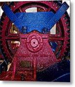 Gears Of Change Metal Print