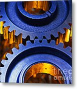 Gears Metal Print by Terry Why