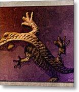 Gecko Dance 2 Metal Print