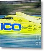 Geico Off Shore Racing Metal Print