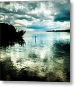 Geiger Key Metal Print by Karen Wiles