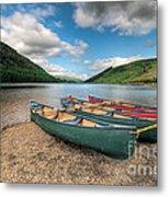 Geirionydd Lake Metal Print