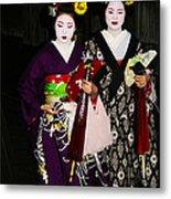 Geisha 2 Metal Print by David Kacey