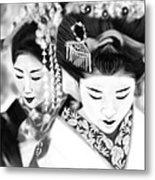 Geisha No.160 Metal Print by Yoshiyuki Uchida