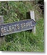Gelerts Grave Metal Print