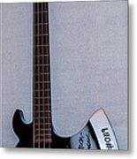 Gene Simmons Hatchet Bass Guitar Metal Print