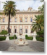 General Archive Of The Indies In Seville Metal Print