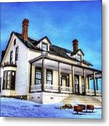 General Custer House Metal Print