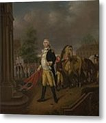 General Humphreys Delivering Metal Print
