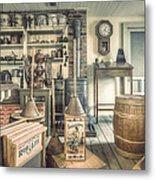 General Store - 19th Century Seaport Village Metal Print