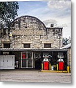 General Store In Independence Texas Metal Print