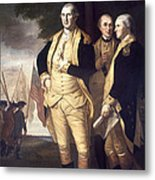 Generals At Yorktown, 1781 Metal Print